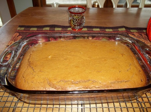 Bake the cake in the center of the oven, until a toothpick inserted into...