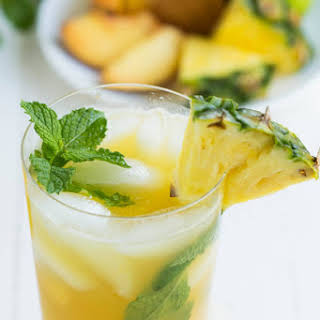 Pineapple Peach Mojito.