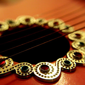 by Cecilia Sterling - Artistic Objects Musical Instruments ( music, musical instrument, jeweled guitar, fancy guitar, pink, guitar, jewels, pink guitar, girls guitar, little guitar, kids guitar, bejeweled )