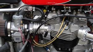 Carburateur de la Triumph Bonneville spéciale Machines et Moteurs pour le Dirt Track