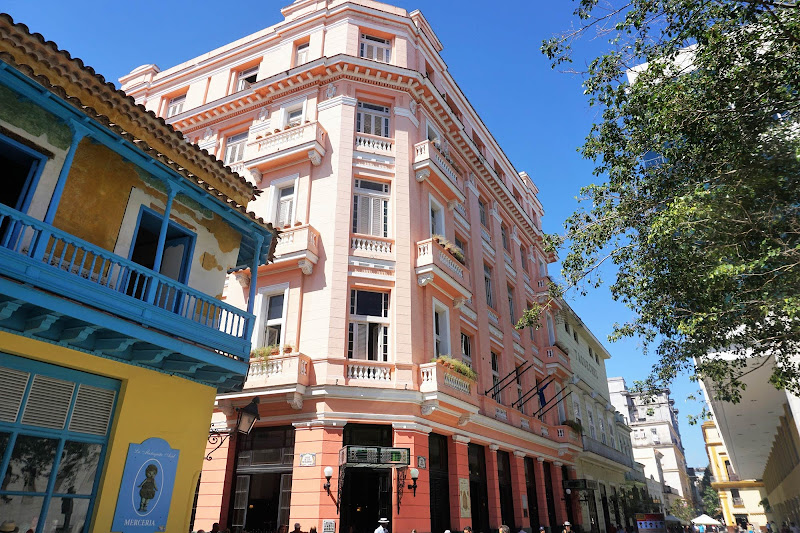 """The Hotel Ambos Mundos, where Ernest Hemingway began penning """"For Whom the Bell Tolls"""" in 1939."""