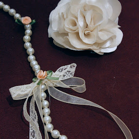 Necklace & Rose by Luiz Michelini - Artistic Objects Other Objects