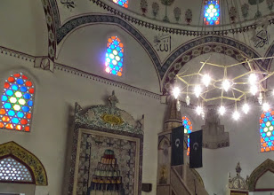 Photo: We visited the Koski Mehmed Pasha Mosque built in the early 1600's.