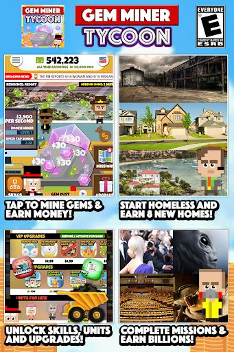 Gem Miner Tycoon: Clicker Game  screenshots EasyGameCheats.pro 1