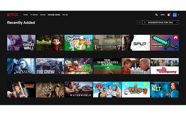 Netflix Watched List