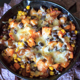 Butternut Squash and Veggie Bake with Tortilla Chips