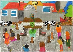 Photo: Praca konkursowa, 2001 r. Paulina, lat 11.