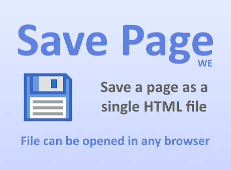 Save Page WE