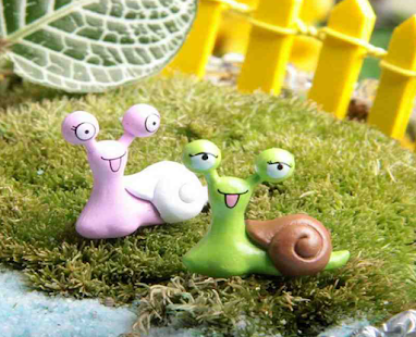 Cute Garden Statues Design - náhled