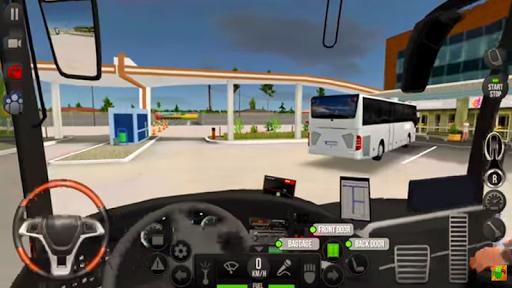 Modern Heavy Bus Coach: Public Transport Free Game  screenshots 12