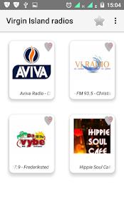 Virgin Island FM radios - náhled
