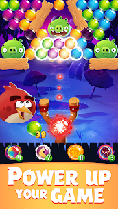 Angry Birds POP Bubble Shooter MOD (Unlimited Gold/Lives/Gems/Boosters) 2