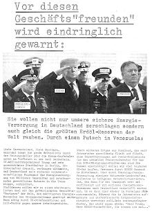 Faksimile: Flaschenpost-extra, Seite 1.
