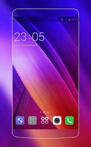 Theme for Asus ZenFone 2 HD 2.0.50 screenshots 1