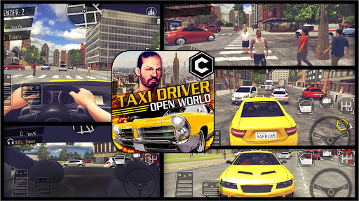 Crazy Open World Driver - Taxi Simulator New Game 2.8 screenshots 1