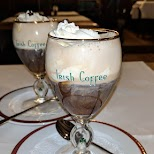 Irish Coffee at Wilden Mann in Lucerne, Lucerne, Switzerland