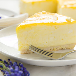 Refreshing Lemon Meringue With A Thick Mousse Filling