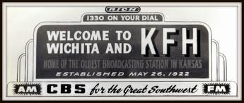 "Photo: KFH was around when radio was more okmportant than it is today.  KFH stood once for ""KANSAS FINEST HOTEL"" but that was a long time ago.  KFH was a  major radio player in the 50s and 60s, but it' popularity waned and it eventually sold in the 1980s."