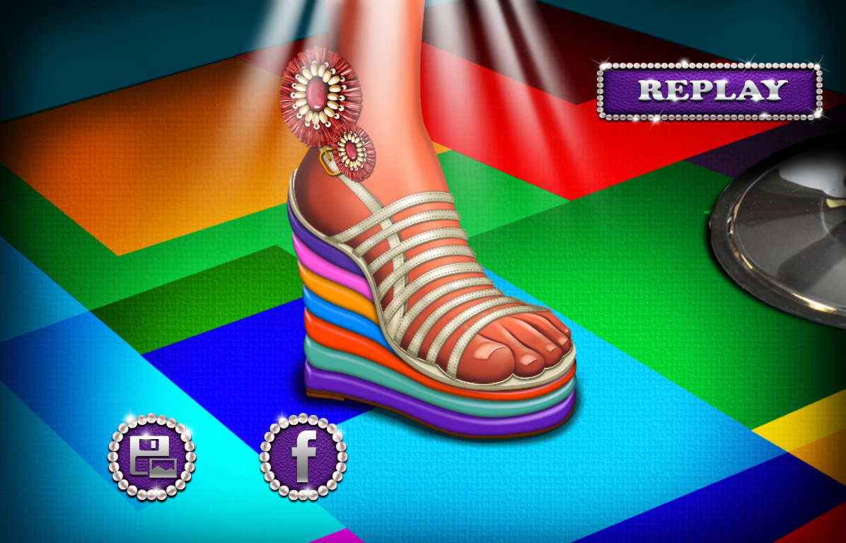 High heels Shoes Designer- screenshot