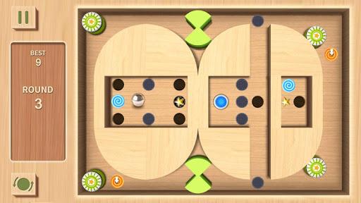 Maze Rolling Ball 3D apkmind screenshots 7