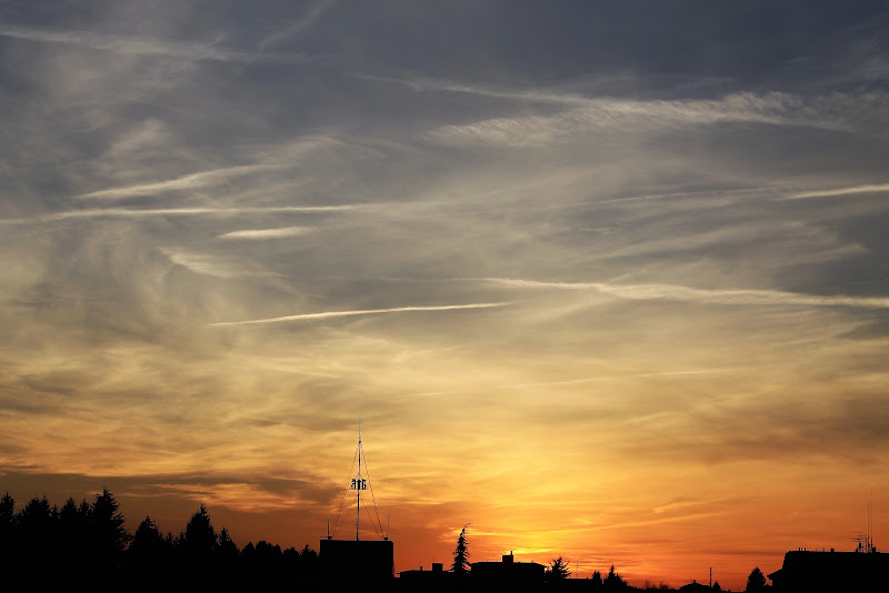 tracce di un cielo frequentato  di teone
