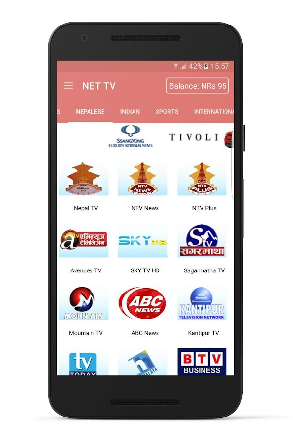 NET TV NEPAL- screenshot