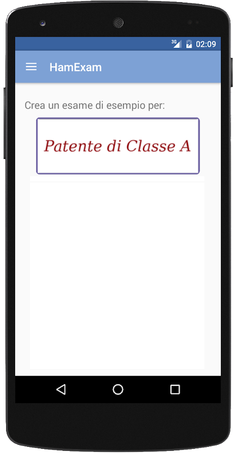 HamExam (IT) Radioamatore- screenshot