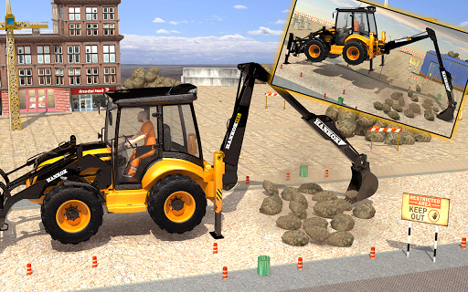 Excavator Simulator - Construction Road Builder 1.0.1 screenshots 8