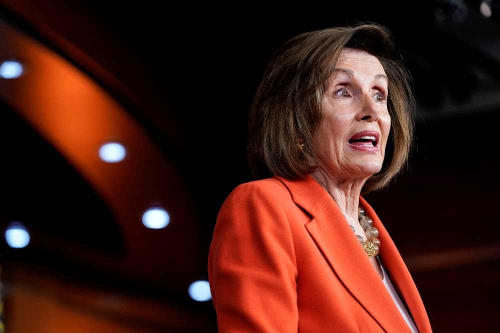 Nancy Pelosi vows to protect whistle-blower from 'Trump intimidation'