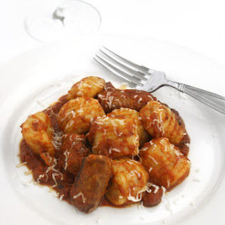 Homemade Gnocchi with Spicy Italian Sausage