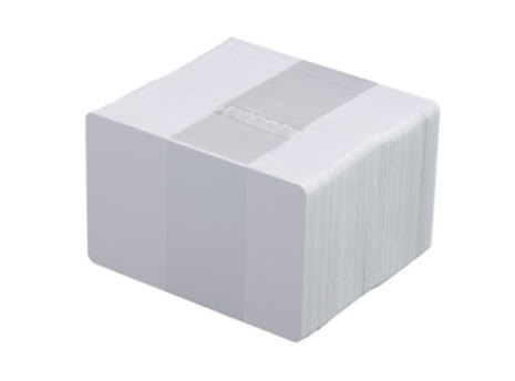 Vita plastkort 0,25 mm
