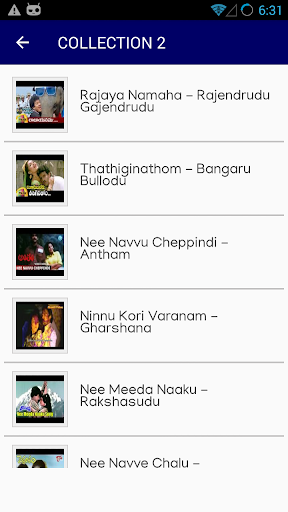 Telugu Old Hit Songs 1.4 screenshots 2