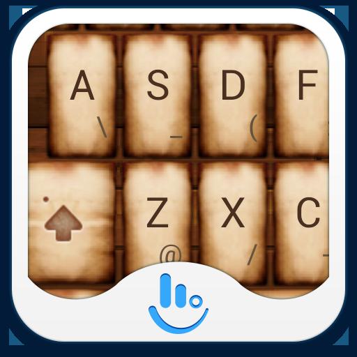 TouchPal Kraft emoji Theme