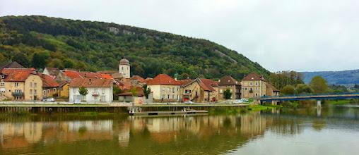 Photo: Le pittoresque village de Clerval