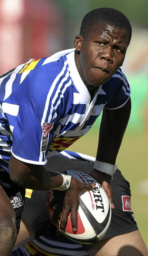 Vusile Dlepu of the Western Province U/16. Picture: CARL FOURIE/GALLO IMAGES
