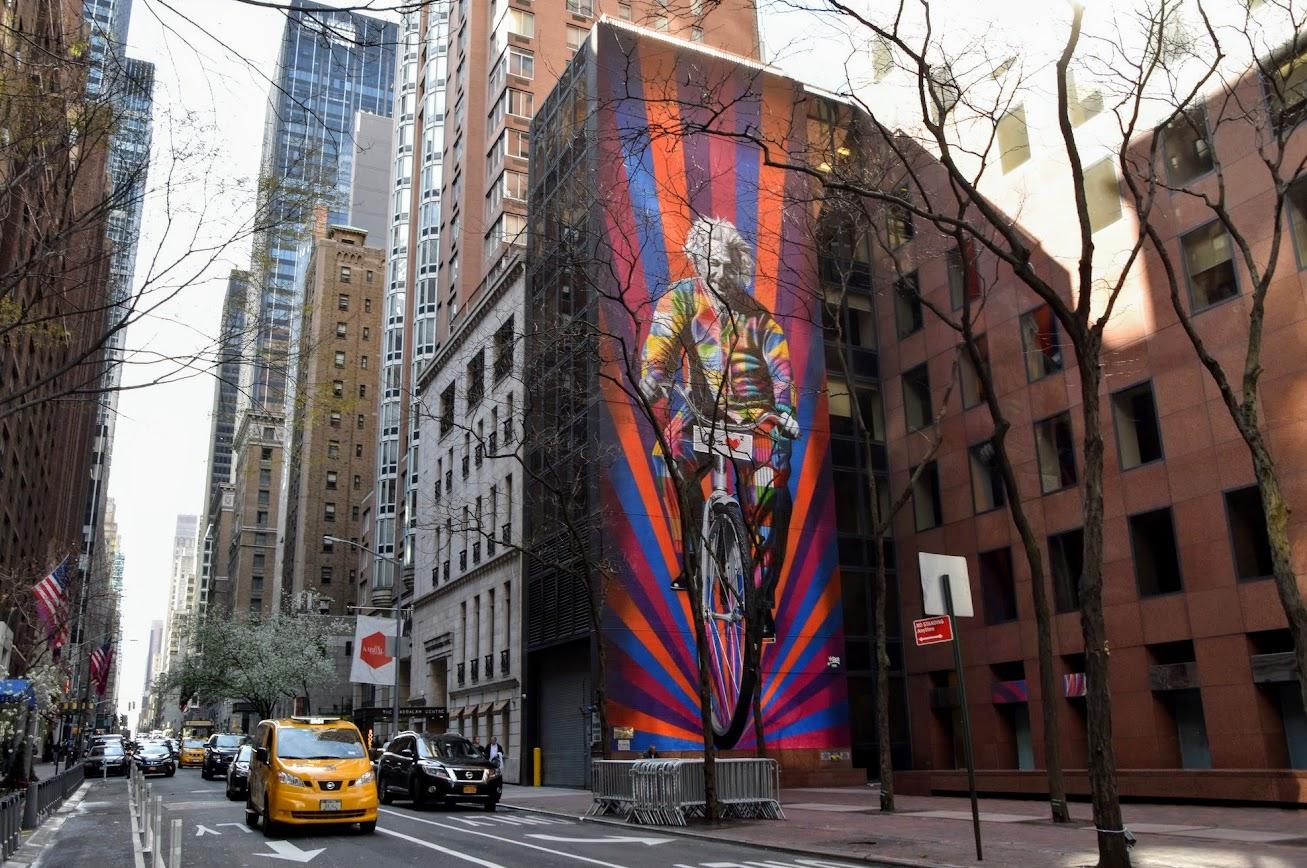 Foto Murales New York.Street Art En Nueva York Localizaciones De Los Murales De Kobra