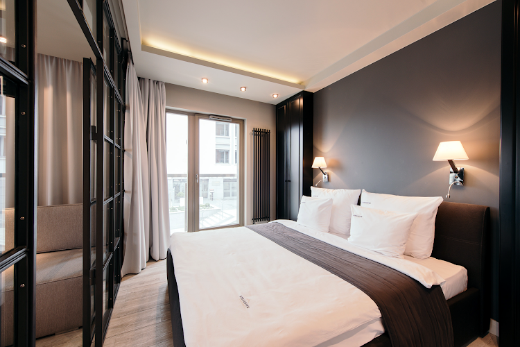 Luxury bedroom at Exclusive Apartment Hotel Gdansk