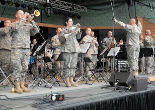 Photo: The 34th Red Bull Infantry Division Band, under the direction of Chief Warrant Officer Trygve Skaar, performed at the Minnesota State Fair's Military Appreciation Day Aug. 30, 2011 in St. Paul, Minn.