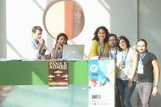 Photo: Stefano Puzzuoli SMS Lo staff all'accoglienza