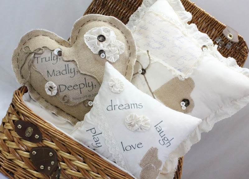 Photo: Valentine's Day pillows!