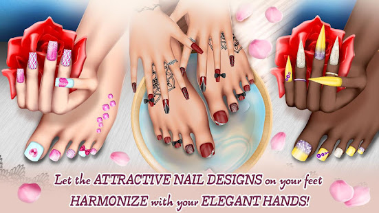 Nail Art Fashion Salon Manicure And Pedicure Game Apps On Google Play