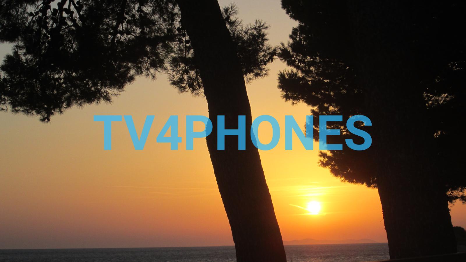tv4phones - screenshot