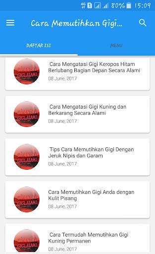 Download Cara Memutihkan Gigi Alami Mudah Google Play Softwares