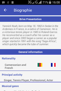 Legend Yannick Noah – Android Apps on Google Play