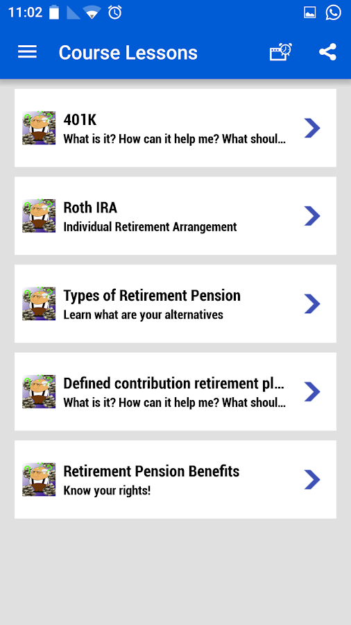 Retirement plans 401k IRA roth- screenshot