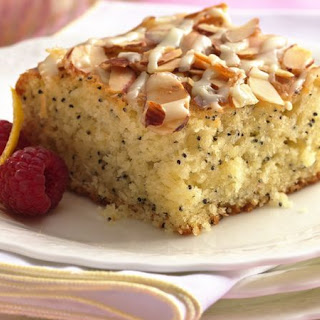 Lemon-Poppy Seed Coffee Cake.
