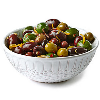 Olives with Orange and Fennel