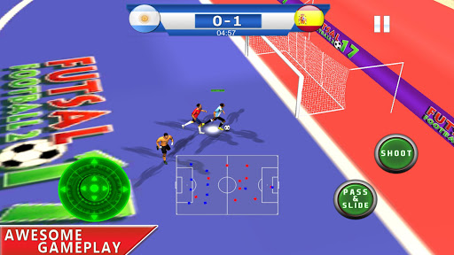 Futsal football 2018 - Soccer and foot ball game 1.7 screenshots 2
