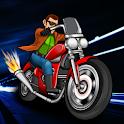 moto traffic night racing 3d icon
