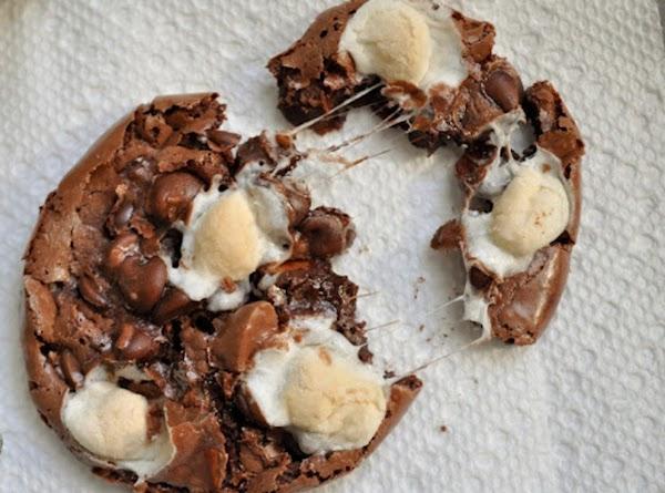 Ooey Gooey Rocky Road Cookies Recipe